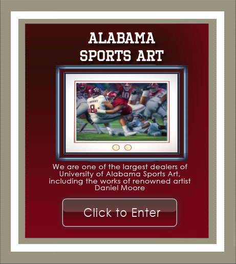 Alabama Sports Art
